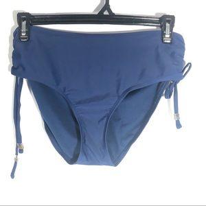 CATALINA | Navy Blue Bikini Bottoms LG